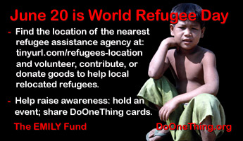 Refugee Quotes Magnificent Do One Thing  World Refugee Day  June 20