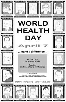 Do One Thing - World Health Day - April 7