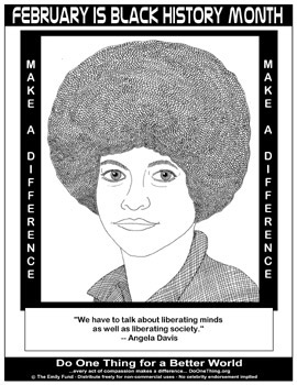 Black History Month Coloring Pages – coloring.rocks! | 350x270