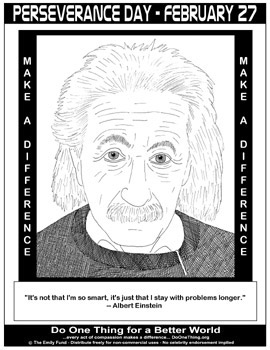 the perseverance of albert einstein These are the 10 most successful people with adhd 10 walt disney,  albert einstein was a classic case of adhd as he was forgetful,.