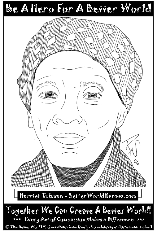 harriet tubman coloring pages photo21