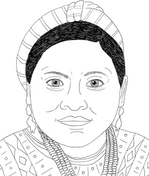 Rigoberta Menchu Do One Thing Heroes For A Better World