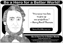 Henry David Thoreau Do One Thing Heroes For A Better World Hero Pix