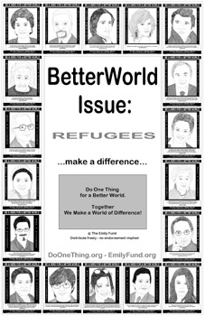 Refugee Quotes Extraordinary Do One Thing  Quotes For A Better World  Refugees